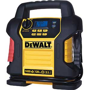 This jump starter is not made by DeWalt.