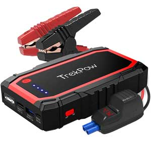Best jump starter for most people that drive vehicles with mid-size engine.